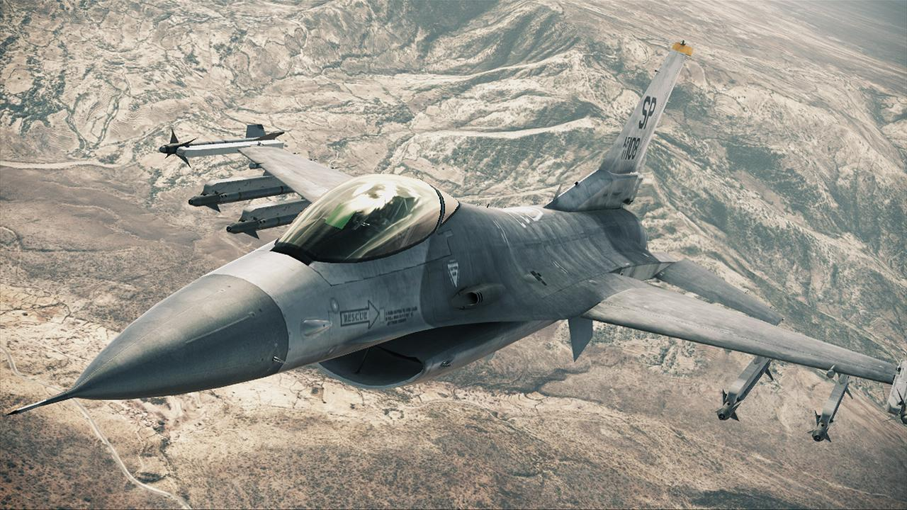 More aircraft revealed for Ace Combat Assault Horizon