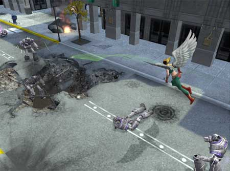 HawkGirl - Justice League Heroes