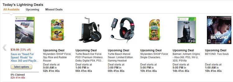 Today's Deals: New Deals. Every Day.