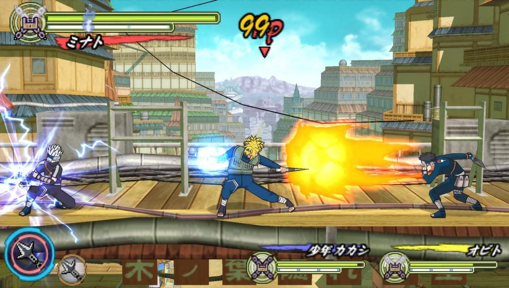 Another Naruto game on its way to PSP - Gaming Nexus