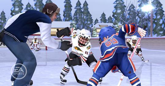 Ea S New Hockey Game Nhl Slapshot Gaming Nexus