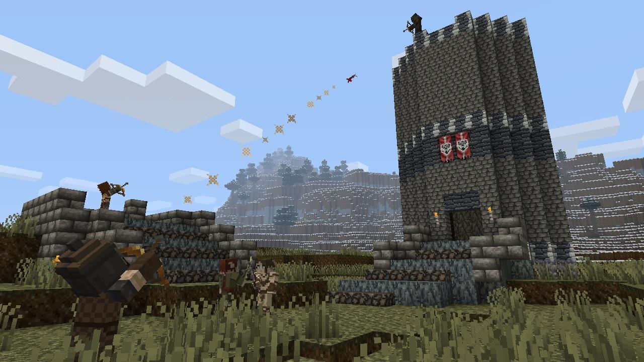 Minecraft: Skyrim Edition » MineZone - Не всё зелёное ...