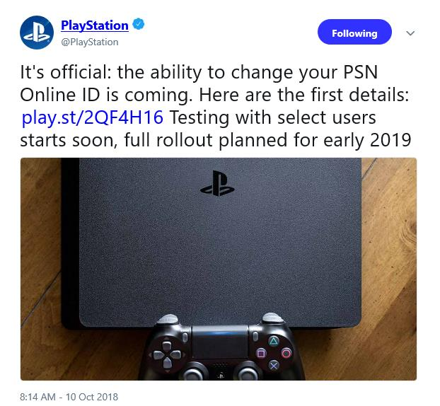 Ability to change PSN ID confirmed - Gaming Nexus