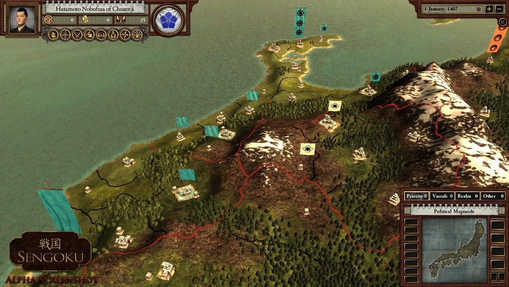 Paradox Interactive Announces Sengoku - Gaming Nexus
