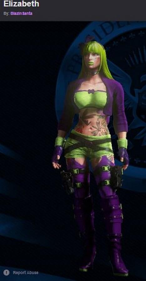 Saints Row 4 Anime Characters : Saints row female pictures to pin on pinterest daddy