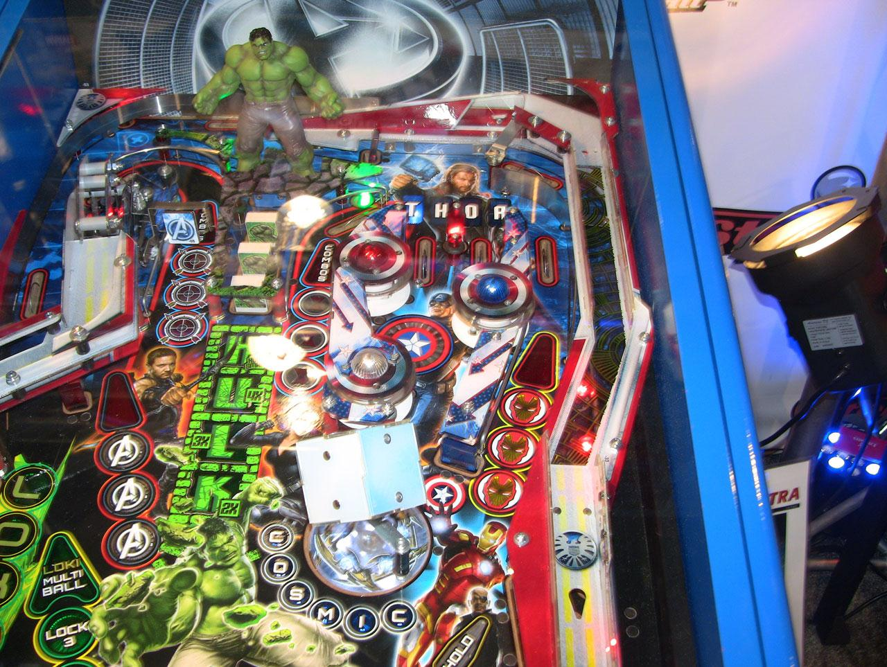ohio state pinball machine