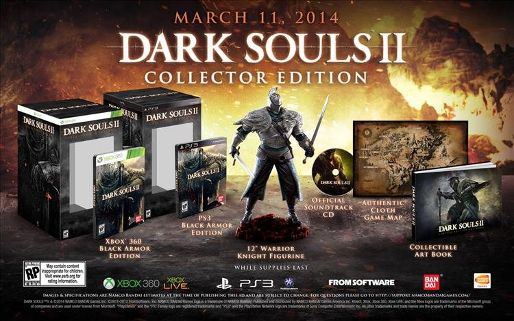 Dark Souls 2 Collector's Edition demands sacrifice...of your ... on tomb raider ii map, crusader kings ii map, five nights at freddy's map, guild wars 2 map, tales of symphonia chronicles map, divinity ii map, devil may cry map, demon's souls map, metal gear solid 5 map, diablo ii map, lineage ii map, jak ii map, the witcher map, dead space map,