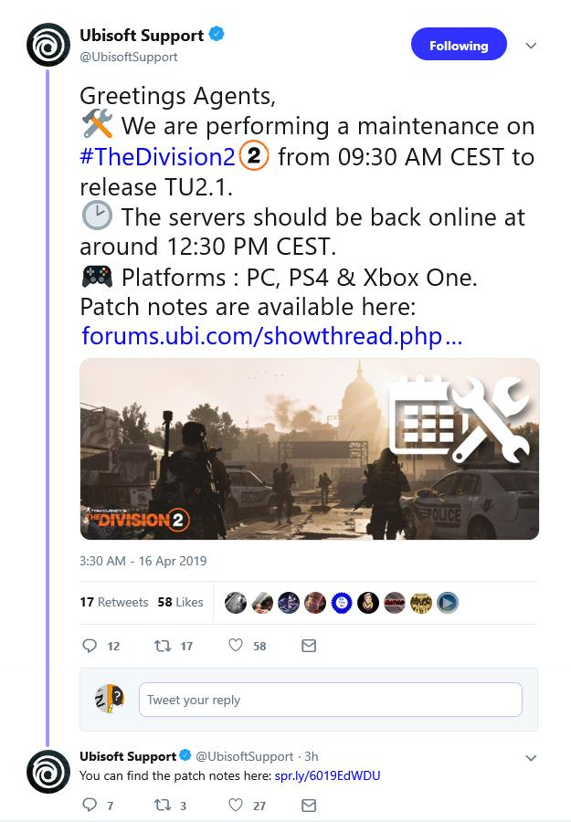 The Division 2 gets another quick patch - Gaming Nexus
