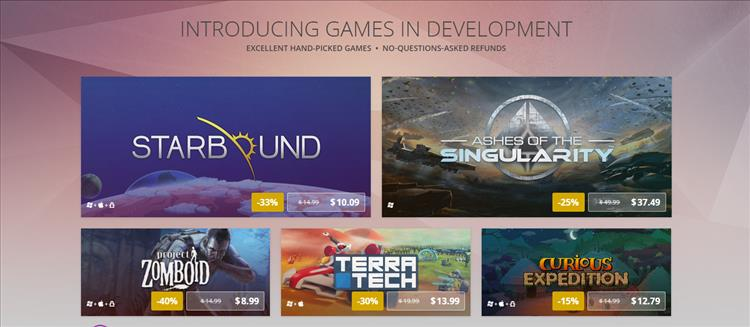 GOG.com starts up early access Games in Development