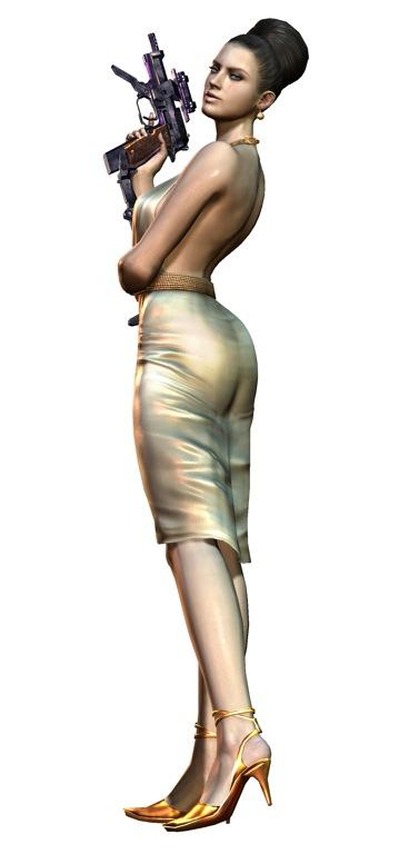 New playable character announced for Resident Evil 5, and she's