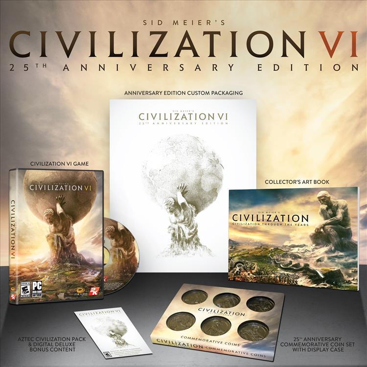 Civilization VI is getting a 25th anniversary edition