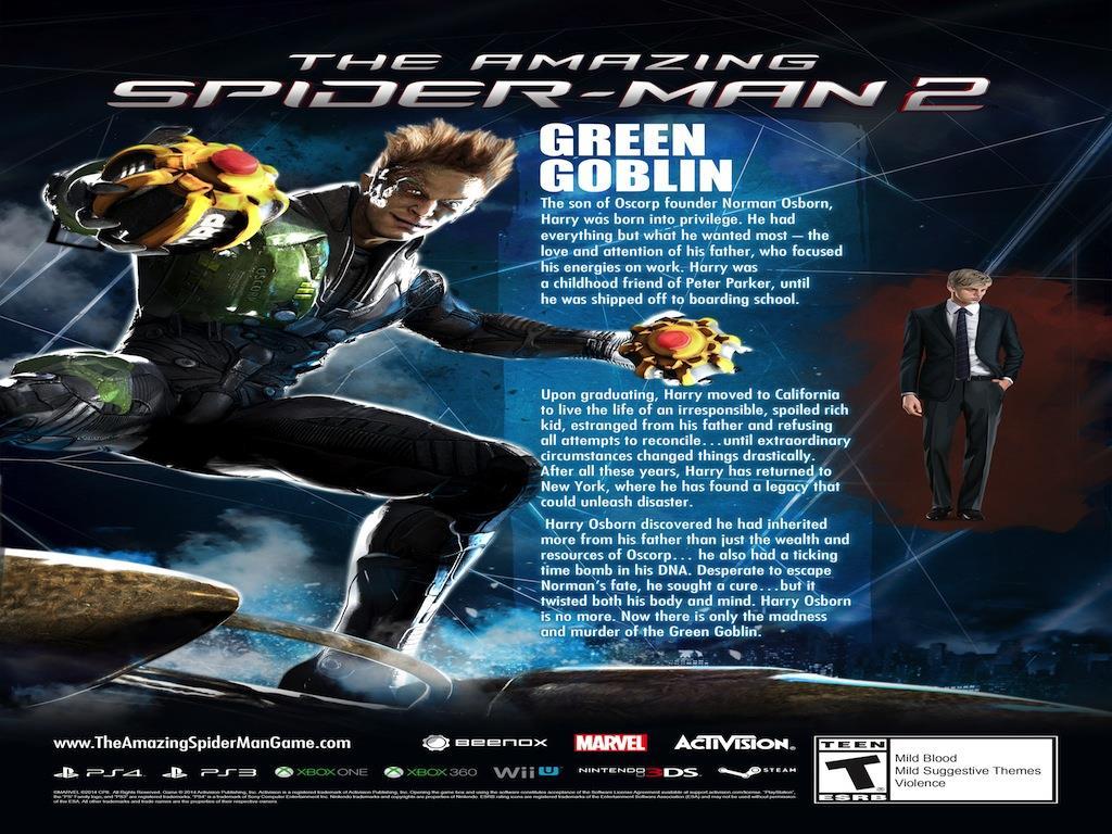 The Amazing Spider-Man 2 Kingpin trailer - Gaming Nexus The Amazing Spider Man 3 Black Cat