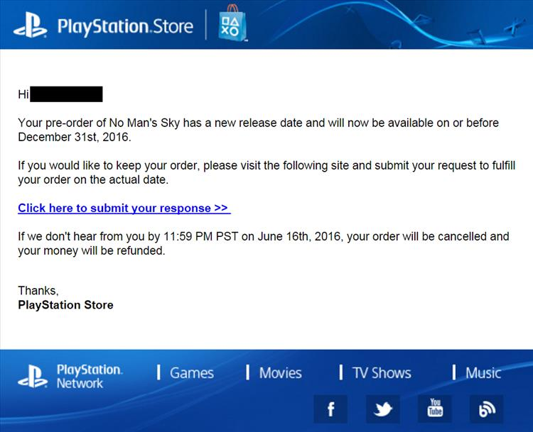 psn how to get a regund on pre orders