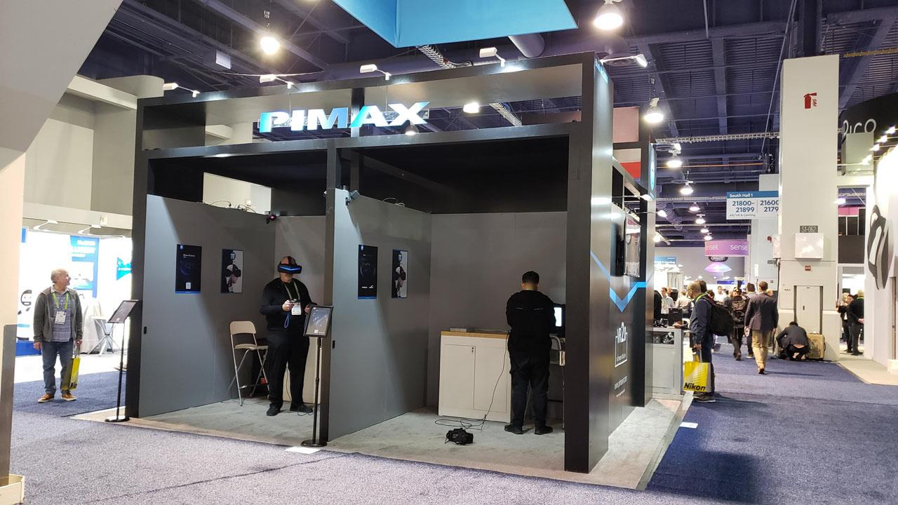 CES 2019: Pimax shows off their eye tracking module - Gaming
