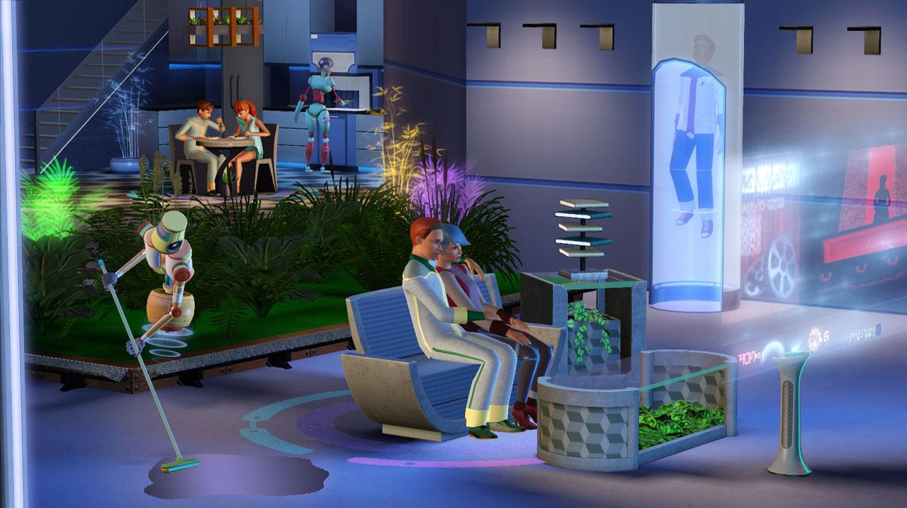 Sims 3 Into the Future expansion and Movie Stuff pack