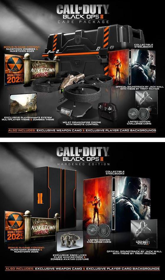 The various editions of Black Ops 2 - Gaming Nexus