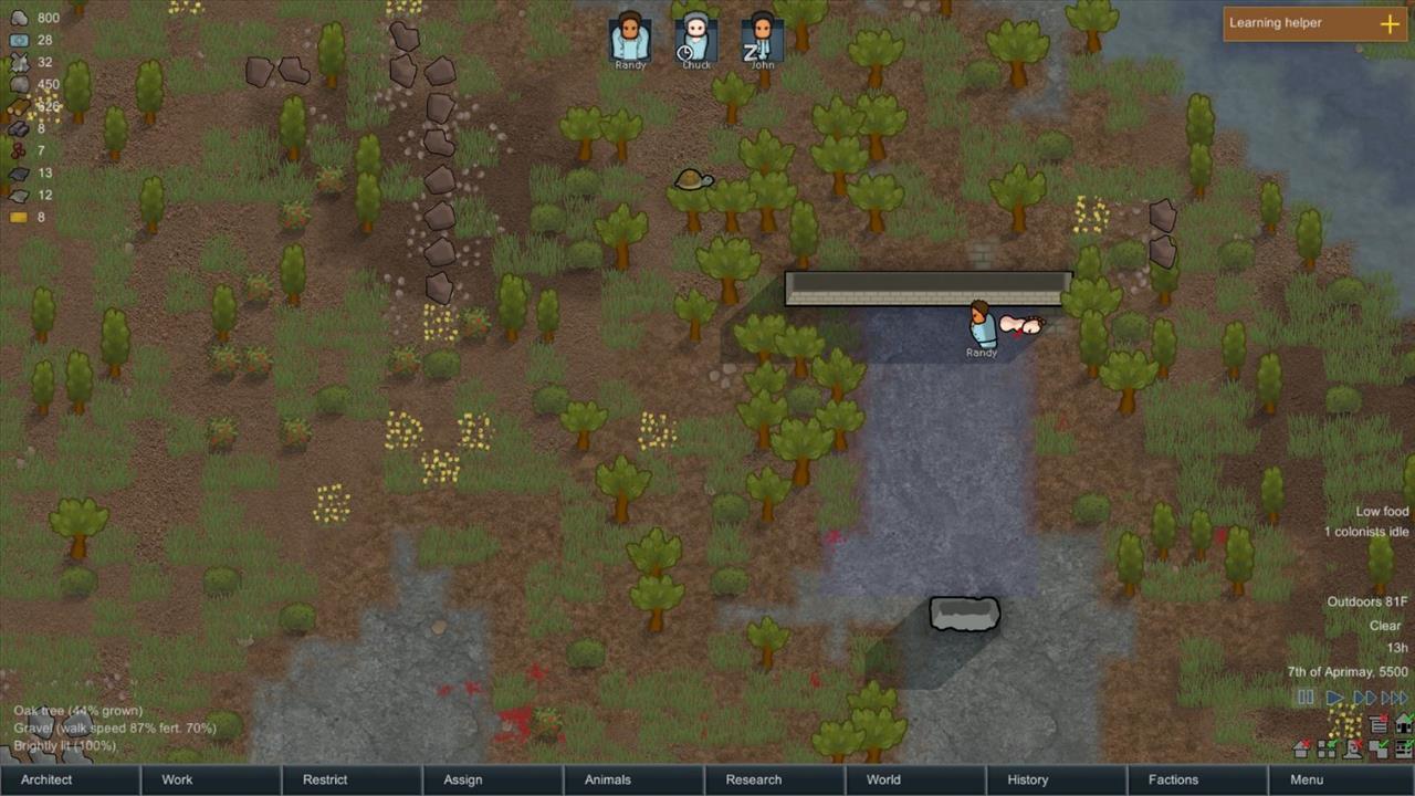 The RimWorld Diary #1: Stick the crash landing - Gaming Nexus