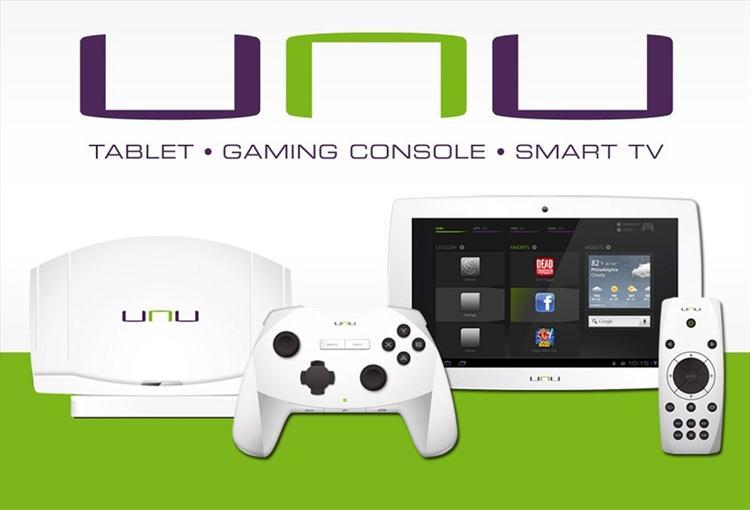 """CES 2013: Sunflex confirms """"unu"""" Android game console"""
