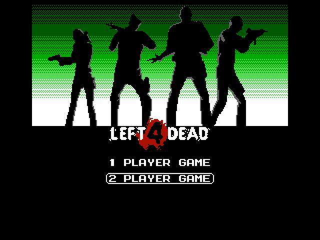 NES-style version of Left 4 Dead is free - Gaming Nexus