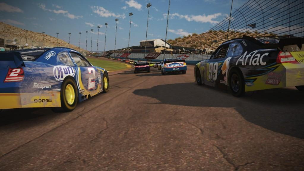 nascar wii 2011. in NASCAR The Game 2011?