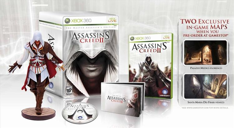 Gamestop Getting Special Assassin S Creed Ii Limited Edition Gaming Nexus