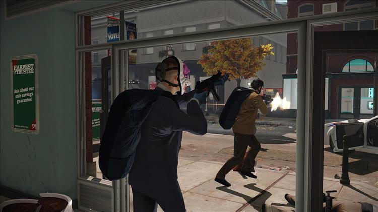 Payday 2 VR is on sale in the Steam store