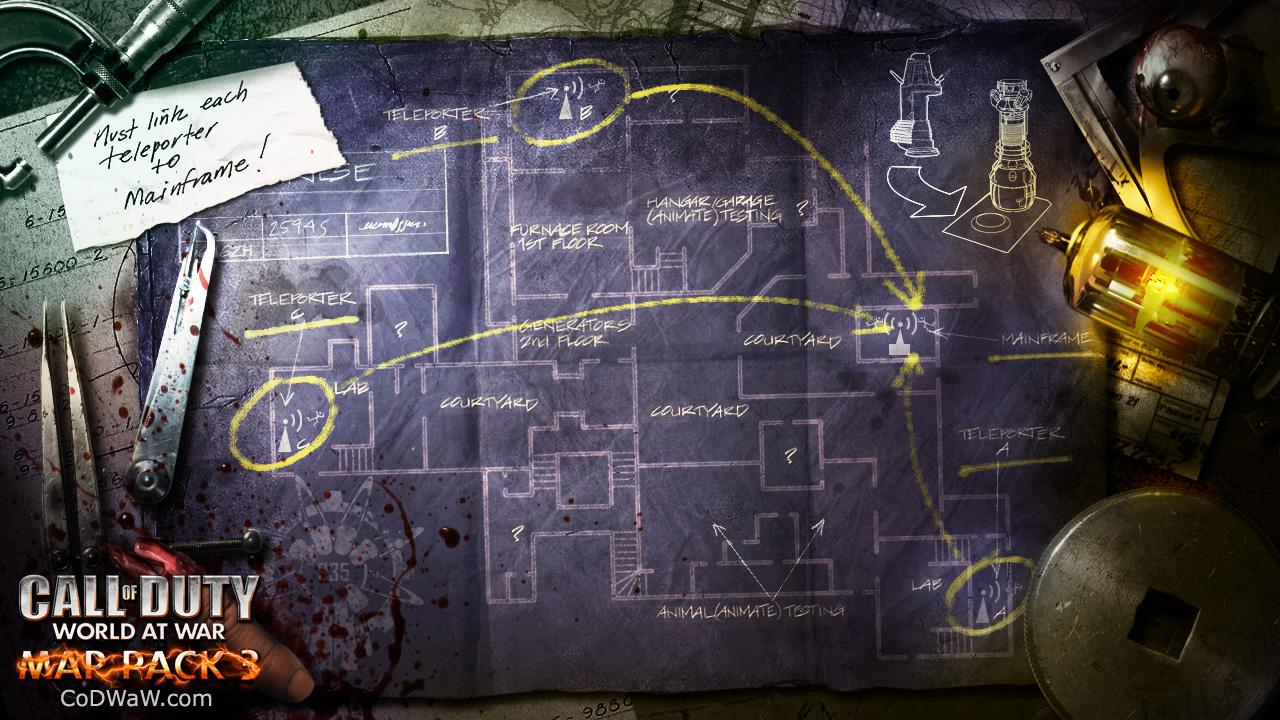 Maps for third COD: World at War map pack revealed - Gaming ...
