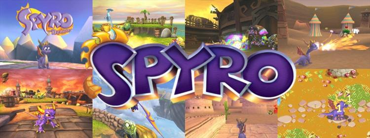 Image result for spyro the dragon banner