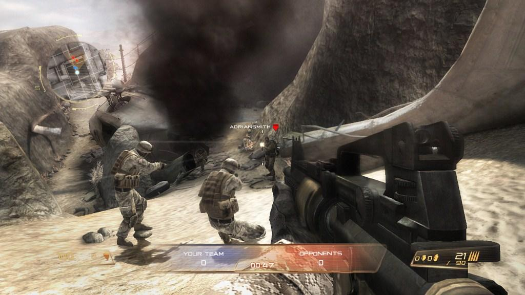 First person shooter games ps3 multiplayer online