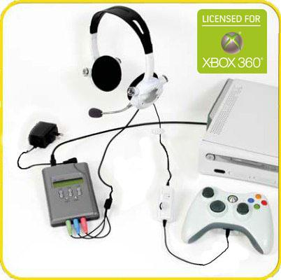 how to connect plantronics headset to xbox 360