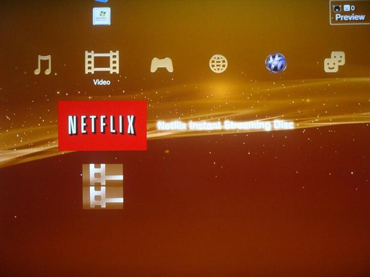 Playstation 3 Netflix